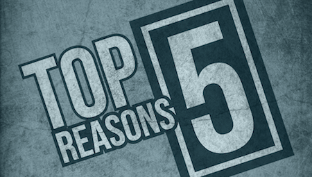 top 5 reasons to be a Five top five lists of reasons to study accounting at jbu.