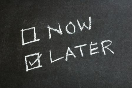 Delayed gratification #